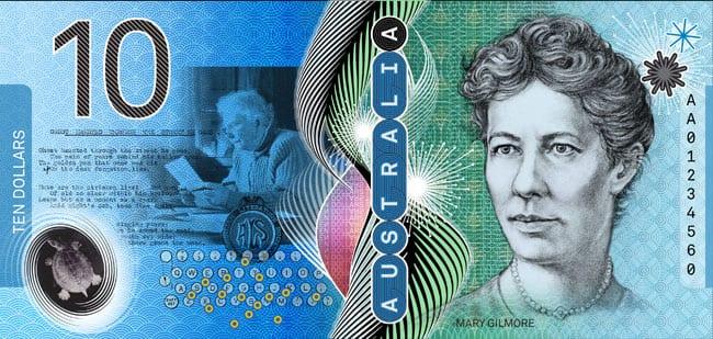 A proposed Australian $10 banknote design