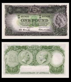 One Pound Coombs/Wilson 1953