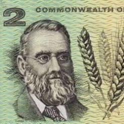 Two Dollars - Decimal Paper