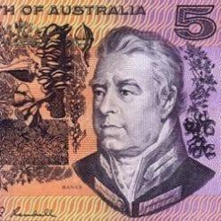5 Dollars - Decimal Paper