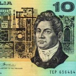 10 Dollars - Decimal Paper
