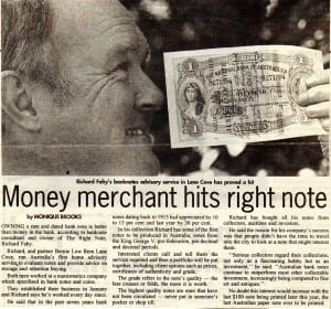 Money merchant hits right note