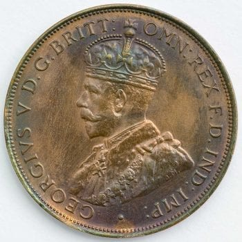 1935 King George V One Penny