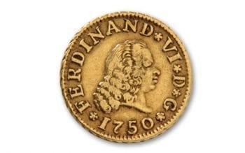 1750 gold dollar America