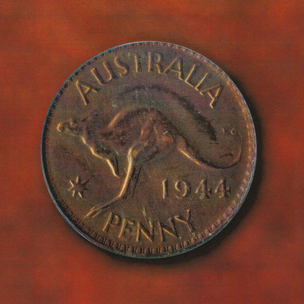 1944 Australian Pre Decimal Coin Proof Penny