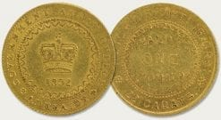 Adelaide Gold Pound Coin 1852 – Type 2