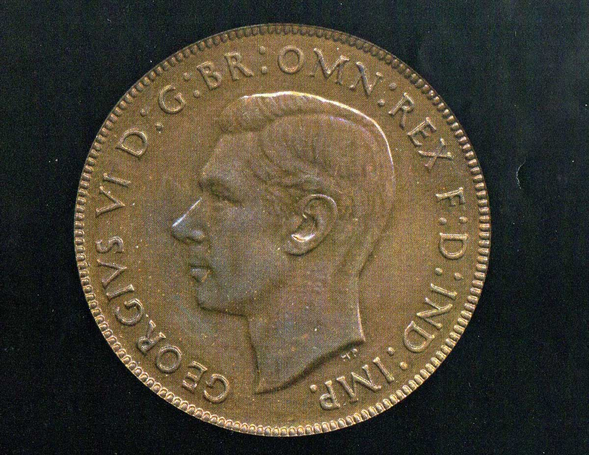 1947 FDC Proof Penny