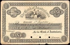 1901 Hobart One Pound Banknote