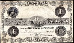 Hobart Town One Pound Union Bank of Australasia
