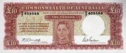 Ten Pound Armitage McFarlane 1942