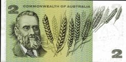 Australian two dollar star obverse