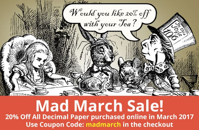 madmarch sale 20% off