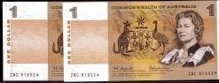 one dollar decimal star coombs wilson 1966 pair
