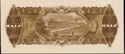 Ten Shilling Half Sovereign Riddle Heathershaw R007 1928