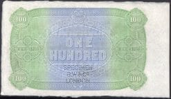 LONDON BANK 100 POUND REVERSE 2