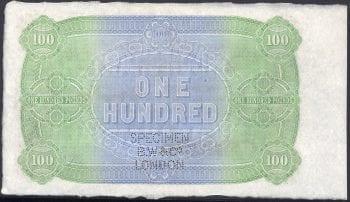 LONDON BANK 100 POUND REVERSE 2