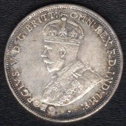 1924 SIXPENCE UNC REVERSE