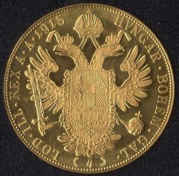 AUSTRIAN HUNGARY 1915 RE STRIKE OBVERSE
