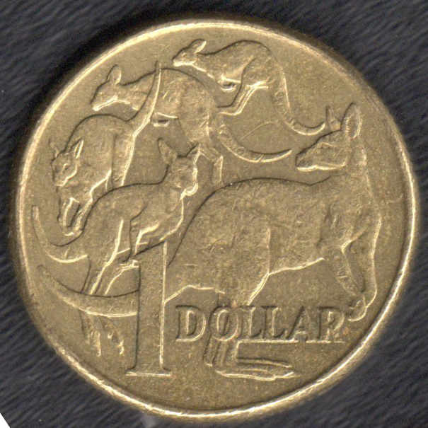 One Dollar Australian Mule Coin 2000 Ef The Right Note