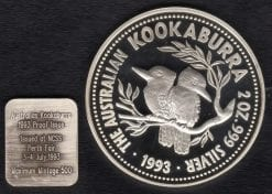 Two Dollar Proof Coin 1993 2