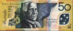 50 Dollar Fraser Evans Last Prefix 1995 VF R