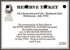 reserve ticket 0290