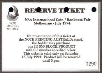 reserve ticket 0290