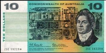 Ten Dollar Coombs Wilson Decimal Star
