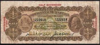 1926 Half Sovereign Kell Collins Fine R05