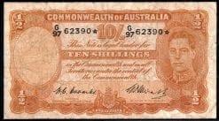1949 Ten Shilling Armitage McFarlane F R014s Star