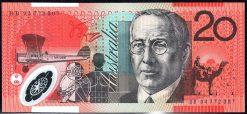 20 dollar Australian polymer banknote BB94