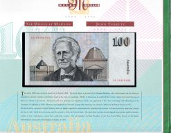 2013 $50 X2 PAIR 1st Prefix AA09 Stevens//Henry Unc Fifty Polymer Banknote
