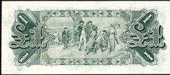 one pound australian pre decimal 1916 back