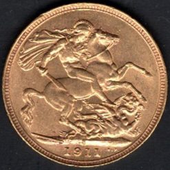 1911 CHOICE UNCIRCULATED OBVERSE