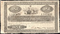 One Pound Bank NSW 1904