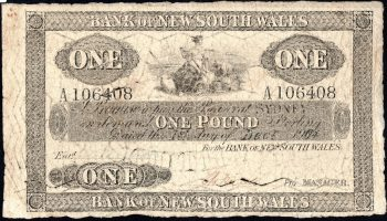One Pound Bank NSW 1904