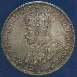 FLORIN 1916 MS65 OBVERSE