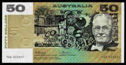 R505F $50 PW 1993 YAA 000851 obv