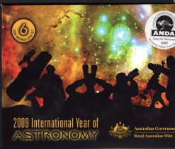 2009 Year of Astronomy Coin Set Obverse