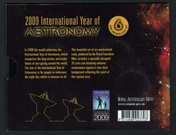 2009 Year of Astronomy Coin Set Reverse