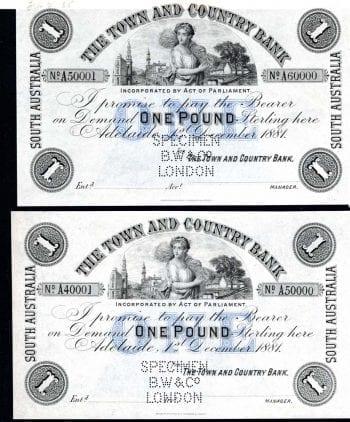 T&C Bank One Pound Obverse