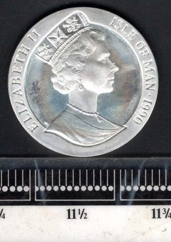 Isle of Man comm Coin Obverse
