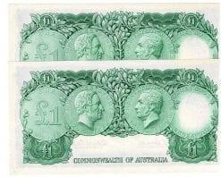 One Pound CW Pair Reverse