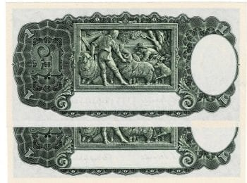 One Pound CW Pair X9 377133-4 Reverse