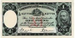 One Pound Riddle Sheehan L51 627756 Obverse