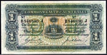 One Pound Cerutty Collins R021