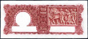 Ten Pound v9230890 back